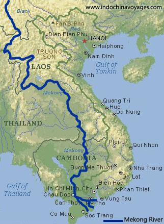 cruise mekong