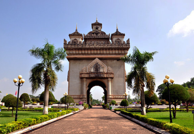 Patuxai, a national monument