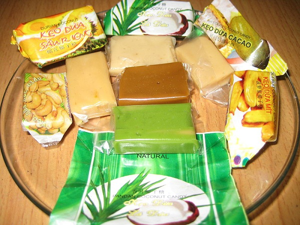 This product has been combined with other ingredients such as durian flavour peanuts, or even cacao to be more diverse