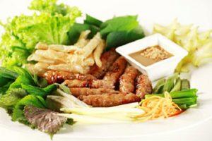 Cai Rang grilled pork roll
