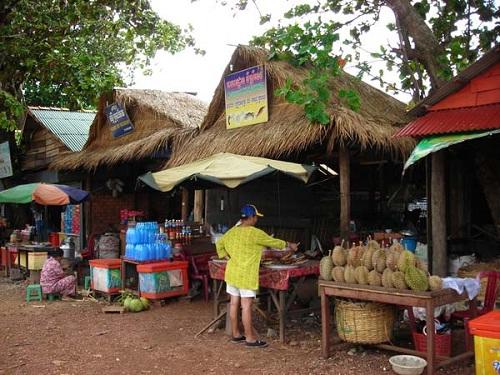 Crab Market, Cambodia