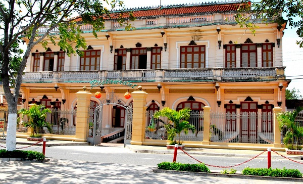 The full view of the home of dasher Bạc Liêu