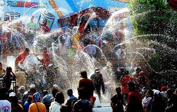 Thingyan, the joyous New Year Water Festival in Myanmar