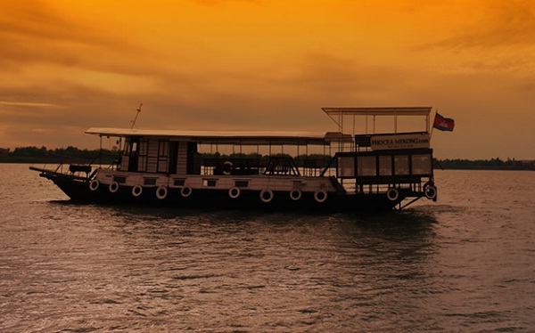 Mekong River Sunset Dinner Cruise