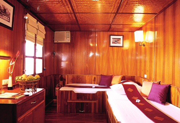 All cabins are fully equipped with facilities and amenities in international standards
