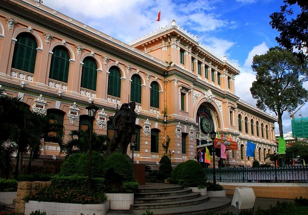 Ho Chi Minh City's Central Post office