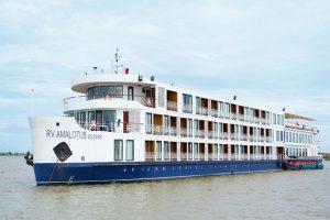 RV Amalotus Cruise looks like a luxury floating boutique hotel