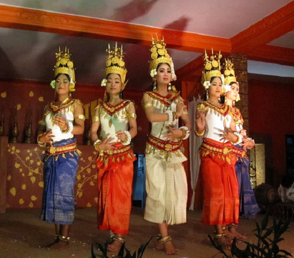 Traditional and Interactive Evening of Khmer Dance on Board