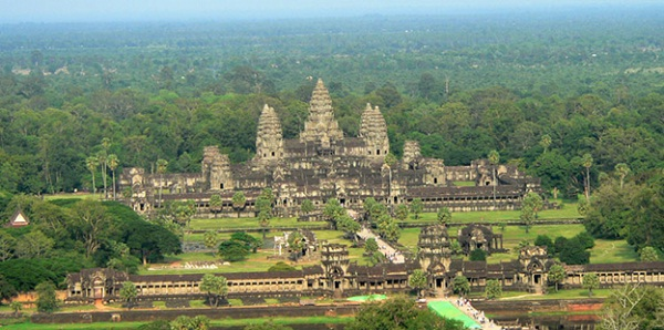 Angkor Wat – a UNESCO World Heritage Site, and the ruins of the Khmer regime.
