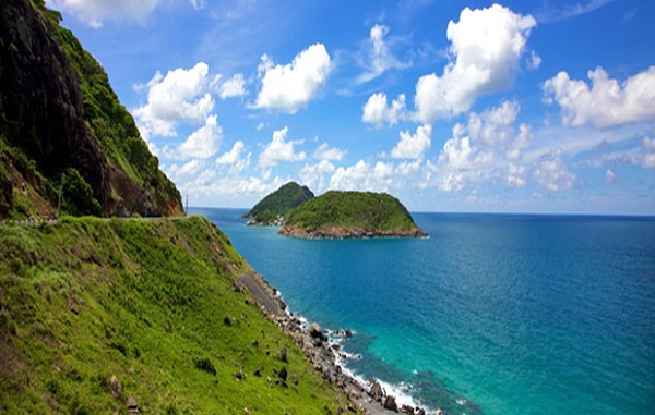 Con Dao Island is famous for lovely beaches, coral reefs and scenic bays