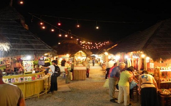 Angkor night market is now clean and airy