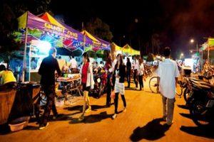 Dinh Cau night has an airy space