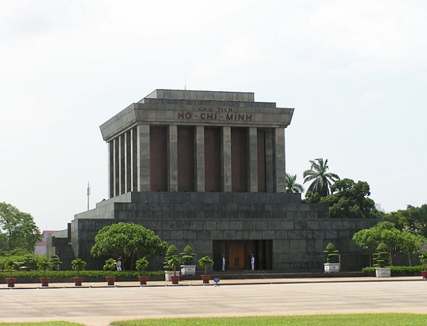 Ho Chi Minh Memorial, a vast complex dedicated to the country's 20th-century Communist leader