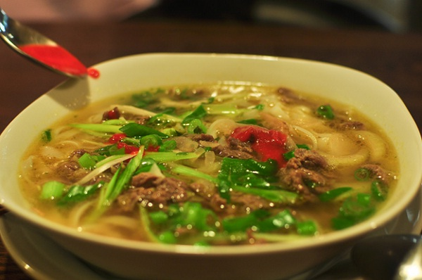A typical bowl of Pho