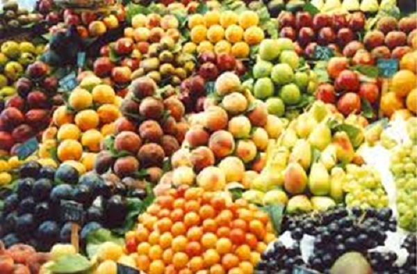 Tons of fruit are displayed each year