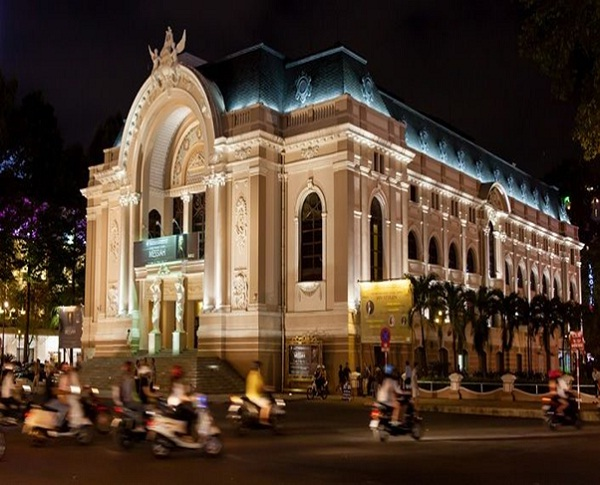 The Municipal Theatre of Ho Chi Minh City