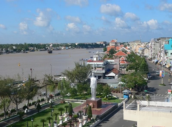 Ninh Kieu Wharf, Can Tho's main trading centre