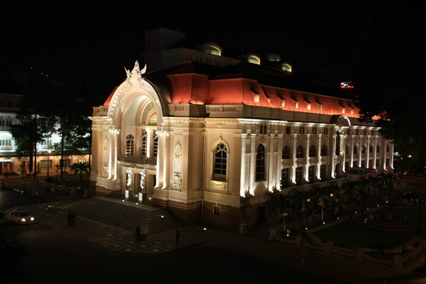 Big Opera House in Ho Chi Minh City