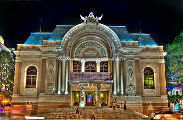 Ho Chi Minh City's theatre is the place holding many events: meetings, seminars, art performances