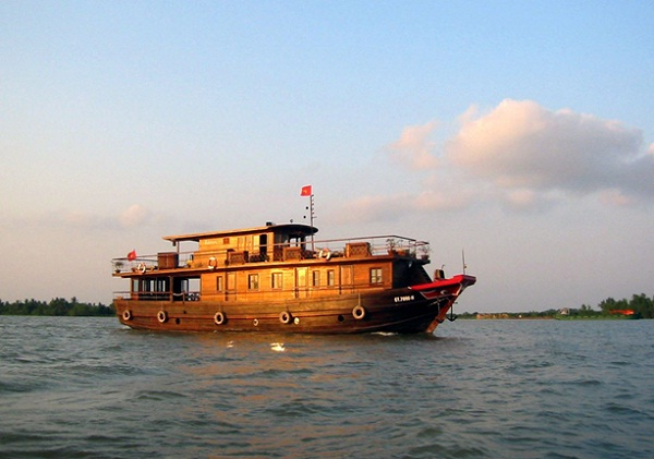 Cruising on the Mekong River is one of the best things to do in Mekong Delta