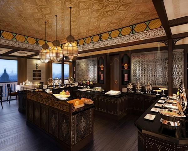 Stunning restaurant