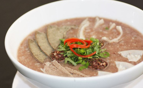 Bung Coc porridge