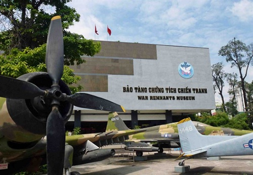 War Remnants Museum in Ho Chi Minh City