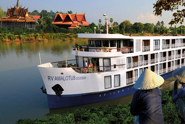 Top luxury cruises Mekong