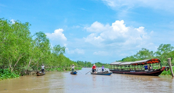 Weather in Mekong Delta is quite stable all year round