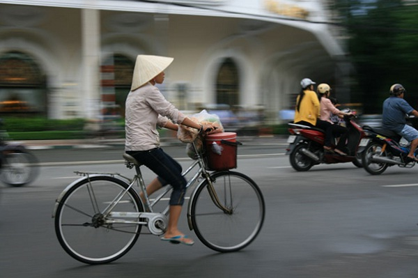Amazing bicycles in Vietnam