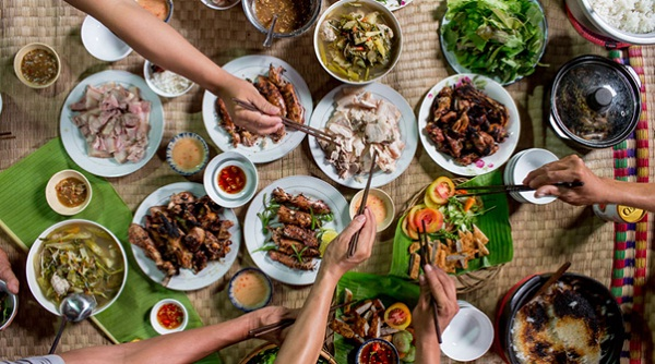 Fish sauce plays an important role in Vietnamese food