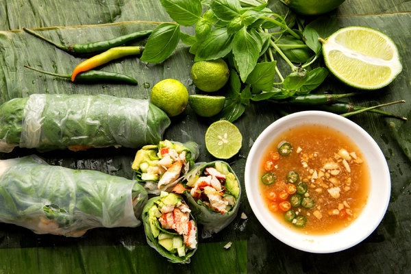 Herbs are secret of Vietnamese dishes
