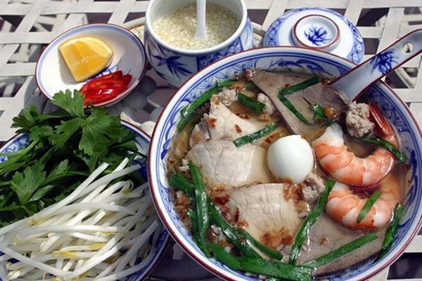 My Tho noodle soup