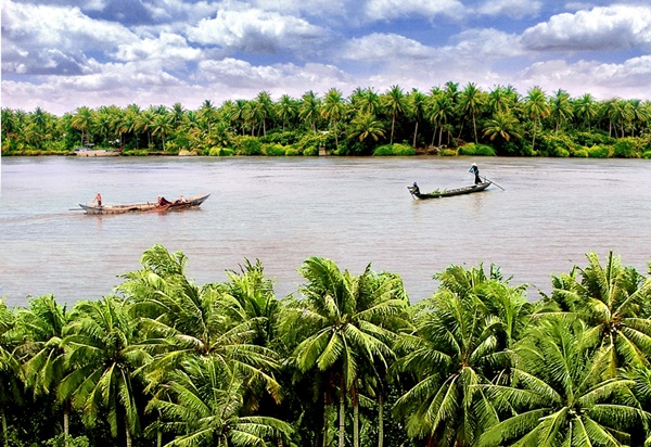 Ben Tre is considered as the kingdom of coconut