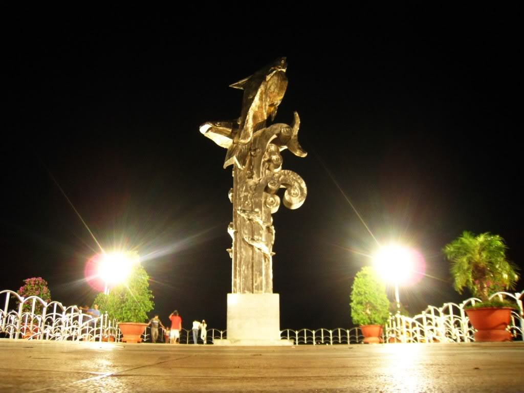Basa monument in the park April 30, Chau Doc, An Giang