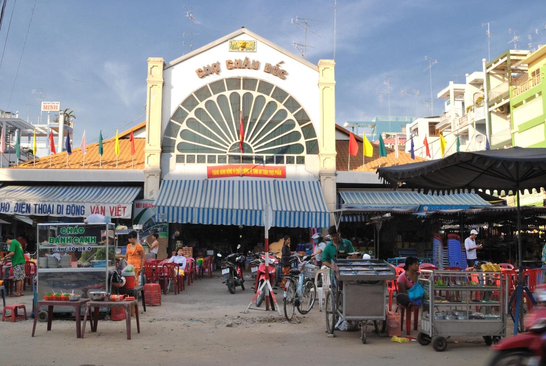 Chau Doc market - where you can buy any kind of Mam Chau Doc