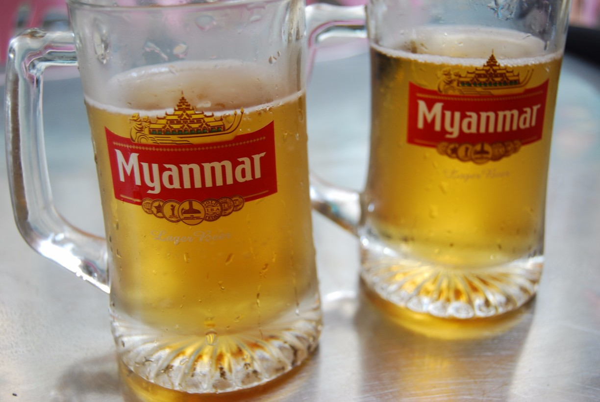 Drinks in Myanmar