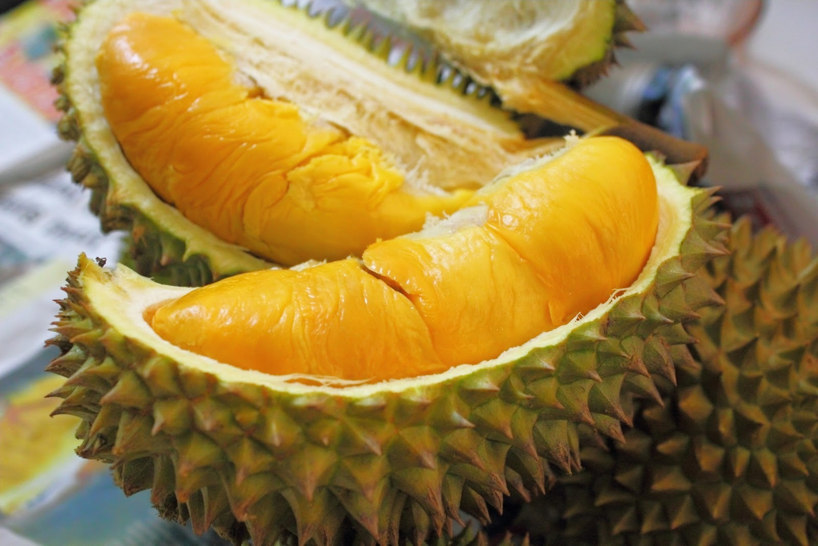 Durian - one of the special fruits in Mekong delta