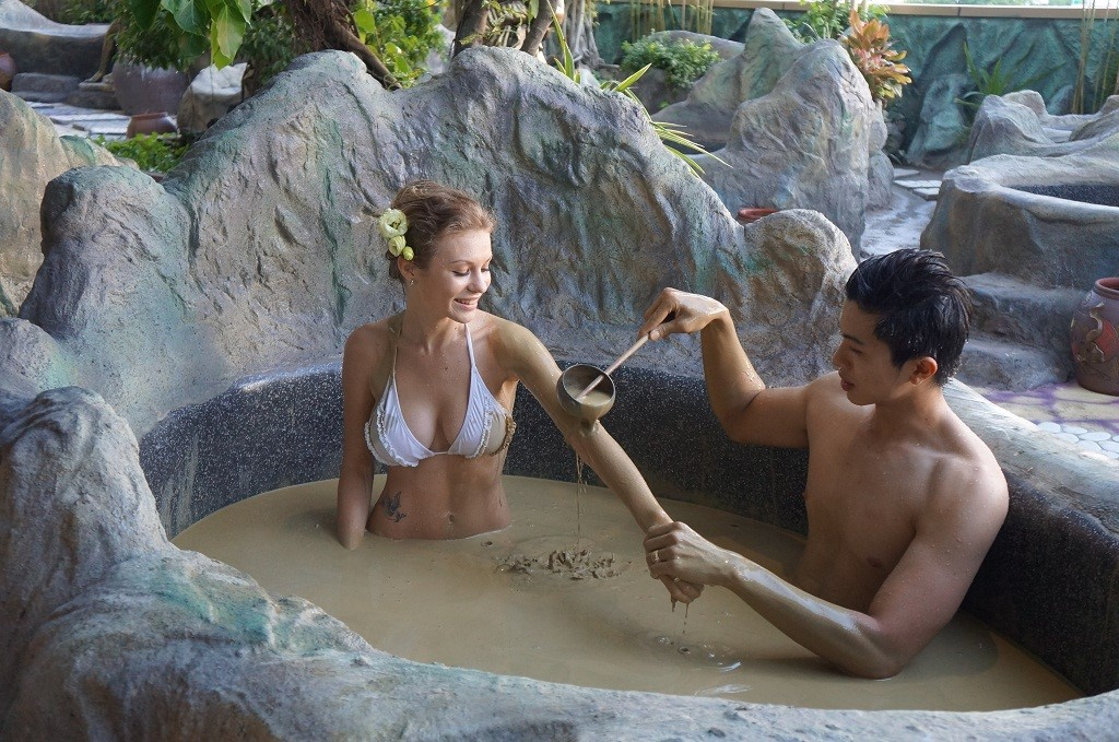 Mud bath in Galina Hotel & Spa Nha Trang