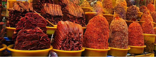 The diversity of Mam Chau Doc An Giang