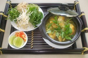 The fish noodle which you can try in Kien Giang
