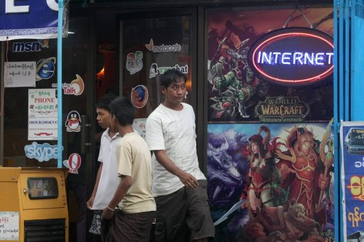 Where you can use Internet in Yangon