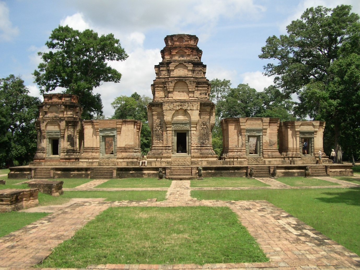 Visit the Angkor Temples