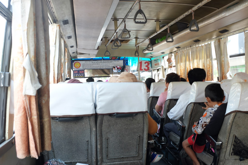 Bus 13 to Cu Chi Tunnels
