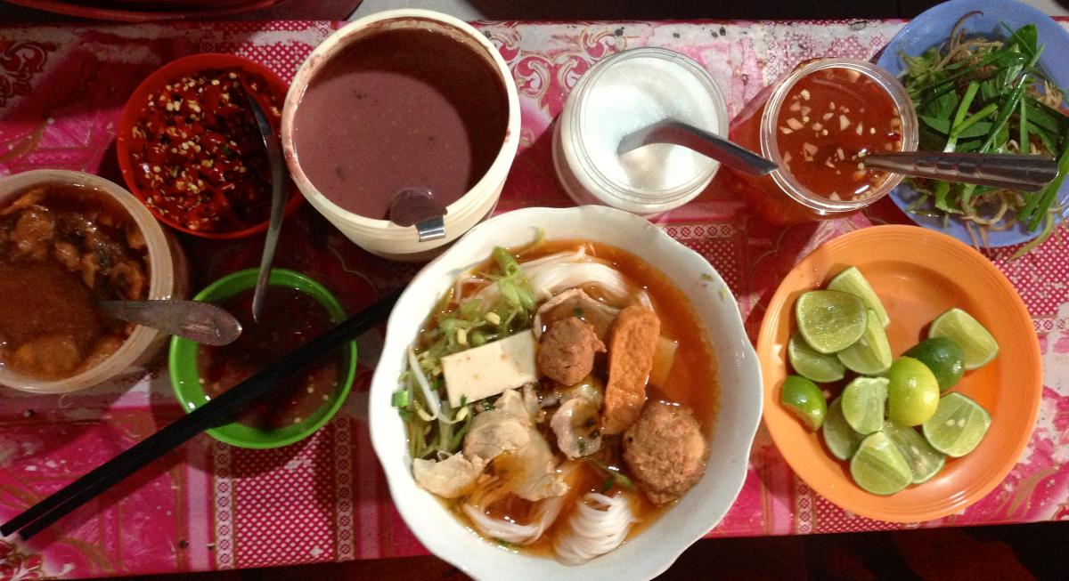 Cambodian breakfast
