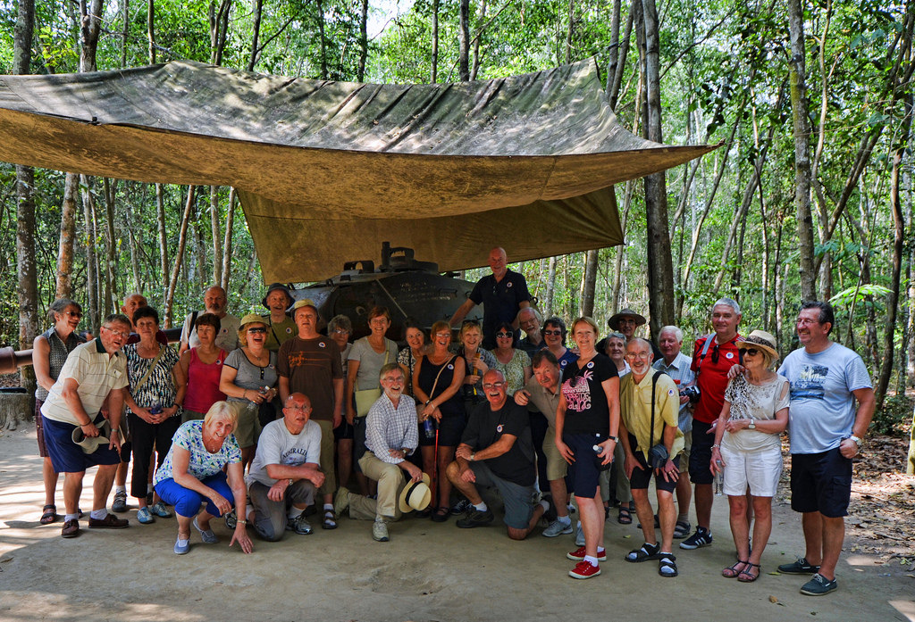 How to get to Cu Chi tunnels