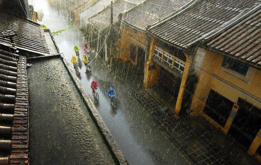 Rain in Hoi An