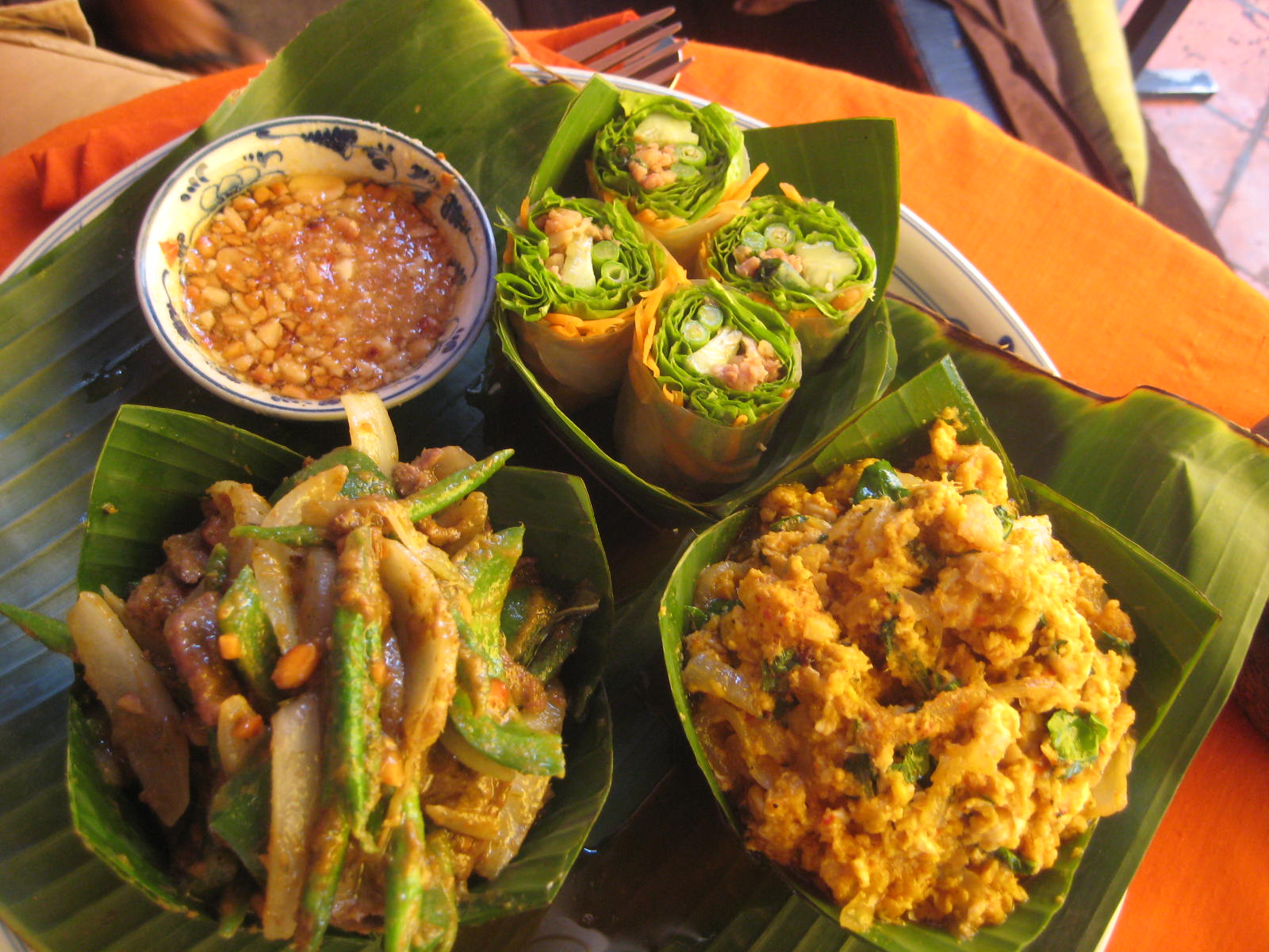 Main food of Khmer people