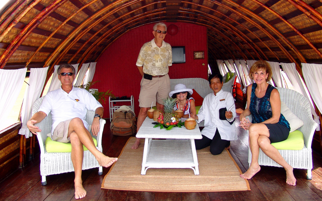 Boat trip in Chau Doc