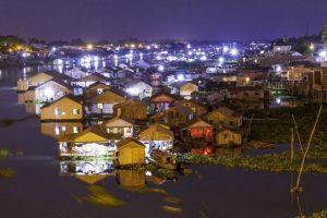 Chau Doc in wet season